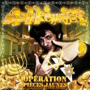 ashkenaton operation pieces jaunes volume 1 cover CD