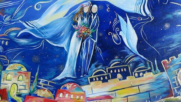 5 questions à… Batsheva Bouskila, peintre de la paix, de l'espoir et de la joie