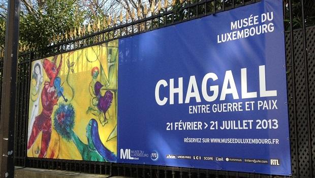 «Chagall, entre guerre et paix», au musée du Luxembourg