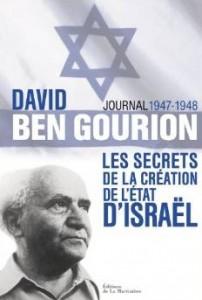 david ben gourion journal creation etat israel