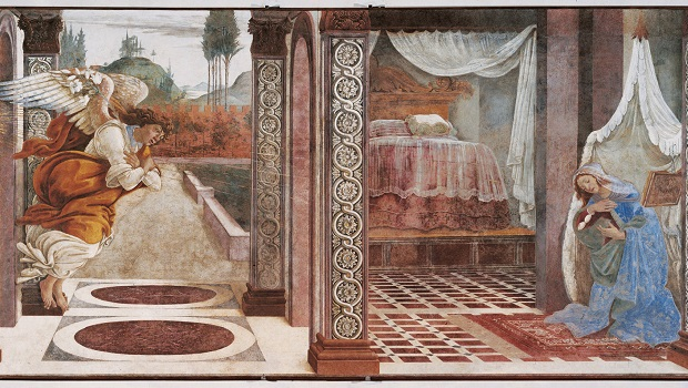 «L'Annonciation» de Botticelli exposée à Jérusalem
