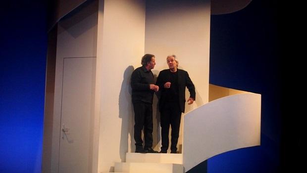 «L'être ou pas», avec Pierre Arditi et Daniel Russo, au théâtre Antoine