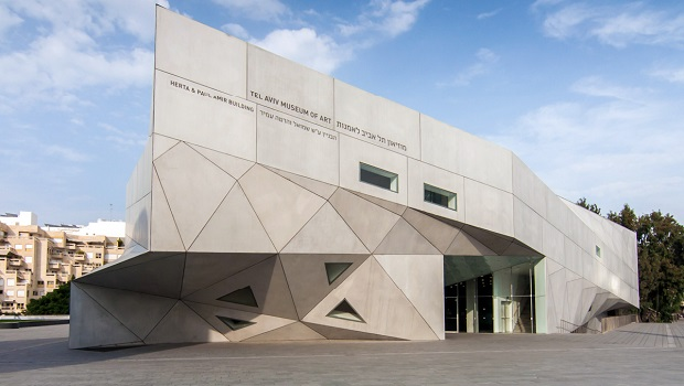 Nouveau bâtiment au musée d'Art de Tel Aviv