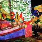 """Exposition """"Monet, Renoir... Chagall. Voyages en Méditerranée"""", à l'Atelier des Lumières"""