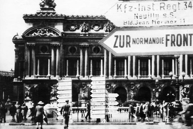 opera garnier paris 1944