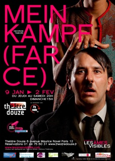 mein kampf farce george tabori makita samba ames visibles collectif theatre douze affiche