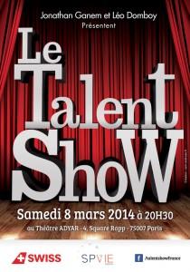 talent show 2014 affiche