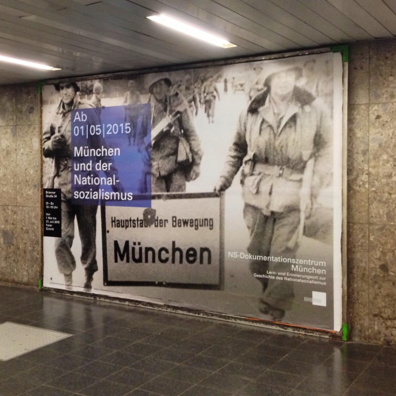 8. Affiche de l'exposition, Centre de Documentation de Munich