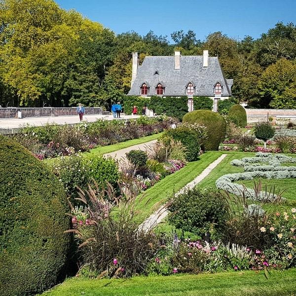 Château de Chenonceau : jardin Diane de Poitiers