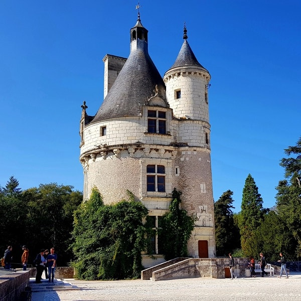 Château de Chenonceau : la tour des Marques