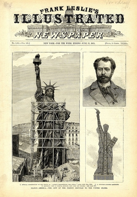 Couverture de l'Illustrated Newspaper, 1885.