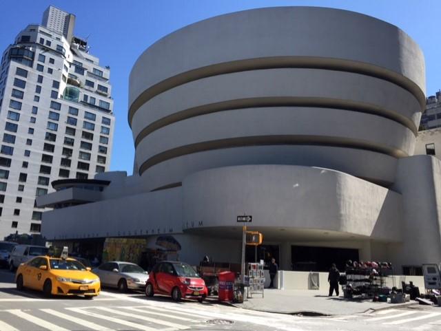 Musée Guggenheim, sur la 5ème avenue.