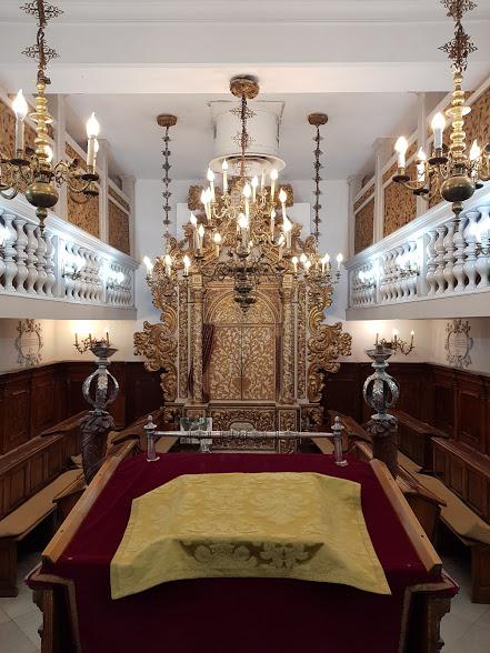 Synagogue italienne de Conegliano Veneto, Jérusalem.