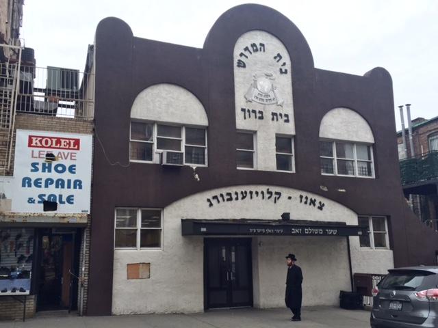 Synagogue, quartier de Williamsburg