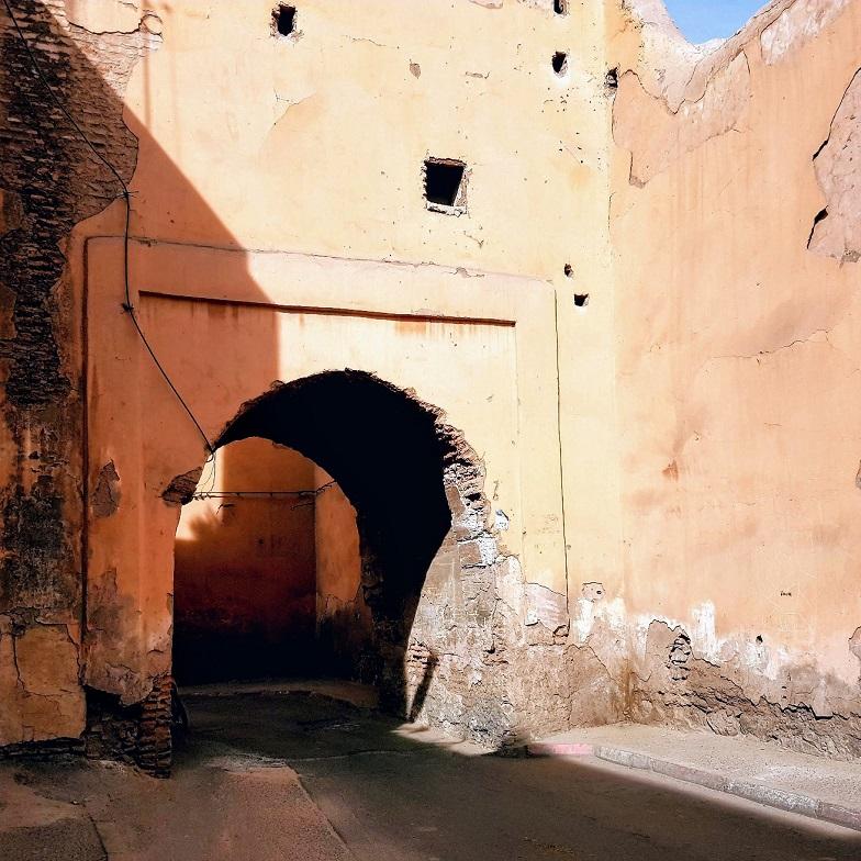 Une des portes d'entrée du Mellah