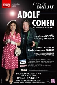 adolf cohen isabelle de botton jean-loup horwitz theatre comedie bastille