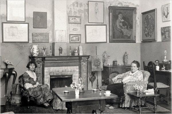collection gertrude stein femmes collectionneuses d'art et mecenes