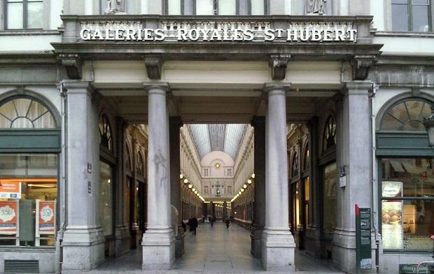 Bruxelles, galeries royales Saint-Hubert.