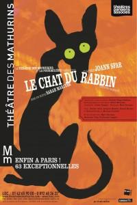 le chat du rabbin joann sfar theatre mathurins
