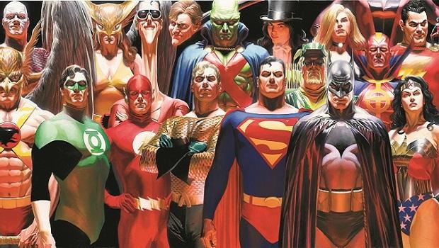 Super Heros L Art D Alex Ross Au Mona Bismarck Cultural Center