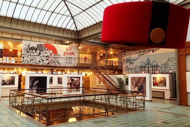 Bruxelles, Centre Belge de la Bande Dessinée.