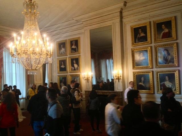 13. Château de Nymphenburg. Galerie des Beautés.