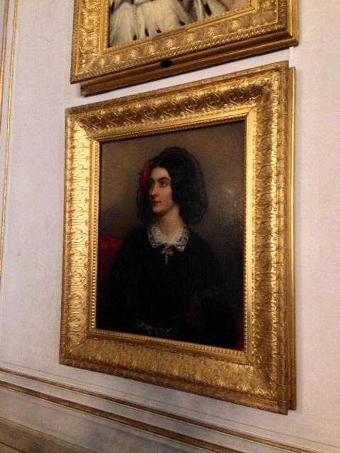 14. Château de Nymphenburg. Galerie des beautés. Portrait de Lola Montez.