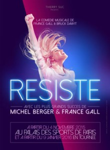 resiste france gall michel berger palais des sports musical
