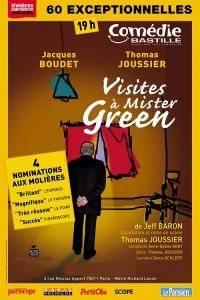 visites a mister green comedie bastille thomas joussier jacques boudet jeff baron juif israel